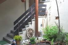 Innenhof Zugang Wohnungen